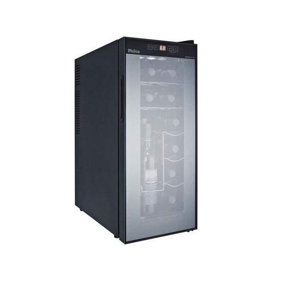 Adega Climatizada Philco 12 Garrafas  Controle Digital de Temperatura  Modelo-PH 12E  