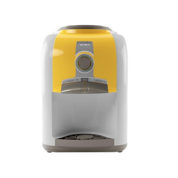Bebedouro de Mesa Esmaltec 127v   Amarelo   Modelo - EGM30