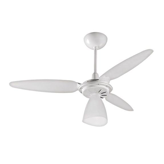 Ventilador de Teto Ventisol   220V   Wind Light   3 Pás   Branco 