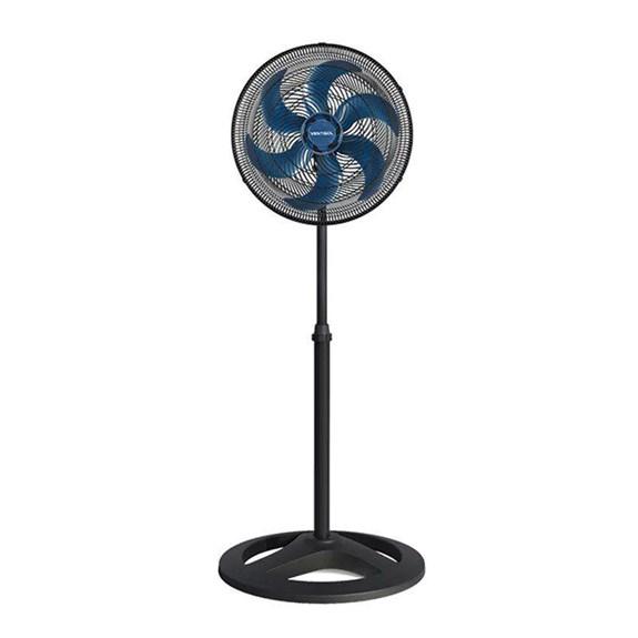 Ventilador Oscilante de Coluna  40cm Turbo | 127V |  6 Pás | Azul |Ventisol |